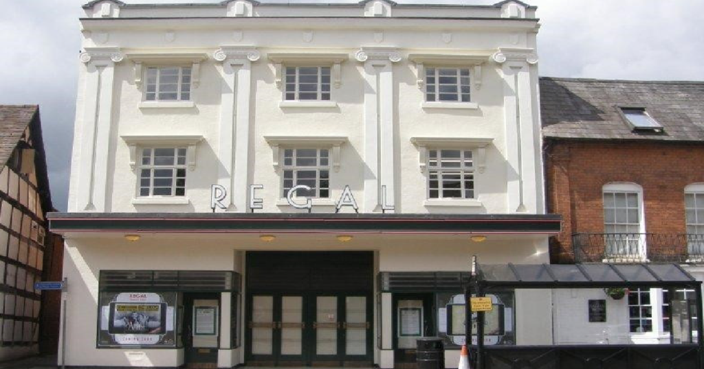 art deco Grade II listed building Regal Thearter