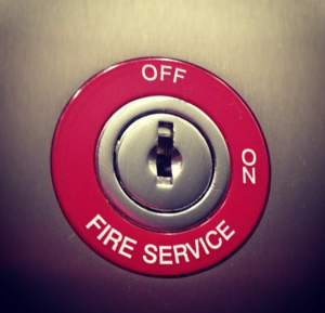 firemans switch lift override switch