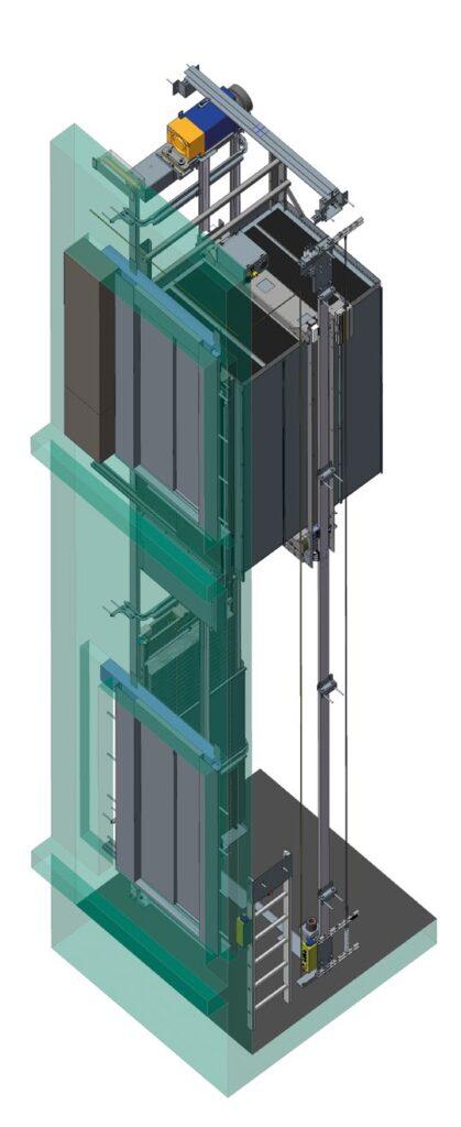 stadard lift shaft nd lift car