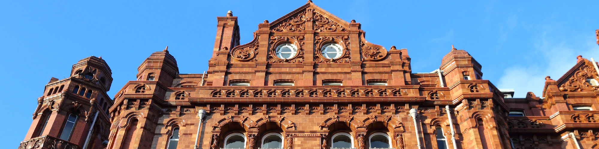 famous eclectic architecture in England