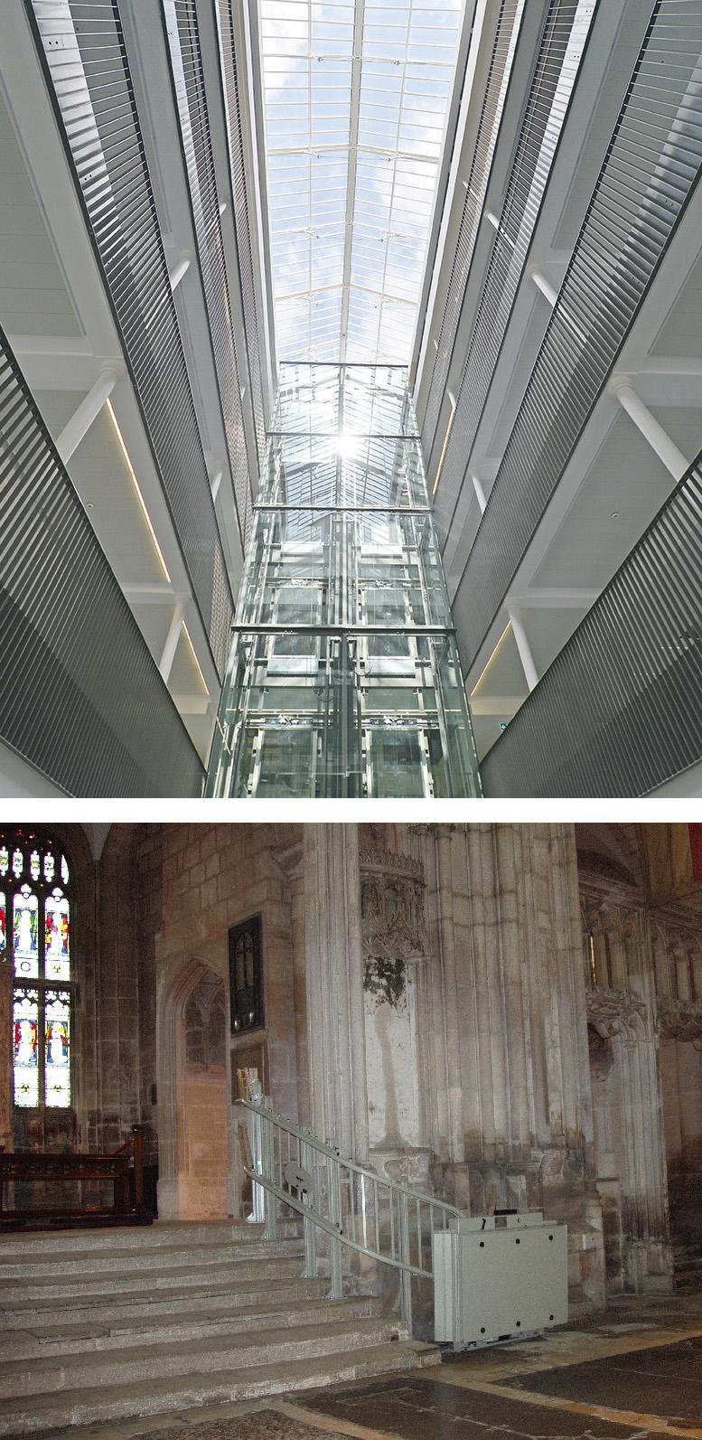 listed building lift successful installtions