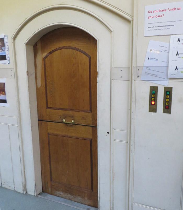 original lift entrance