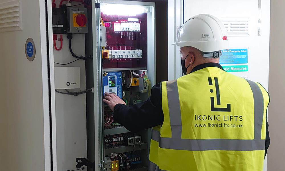 lift maintenance control pannel