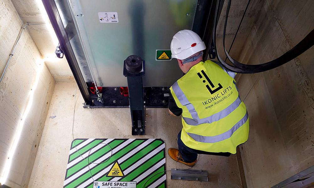 lift maintenance pit